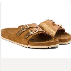 Birkenstock Vaduz Allover Mink Sandals
